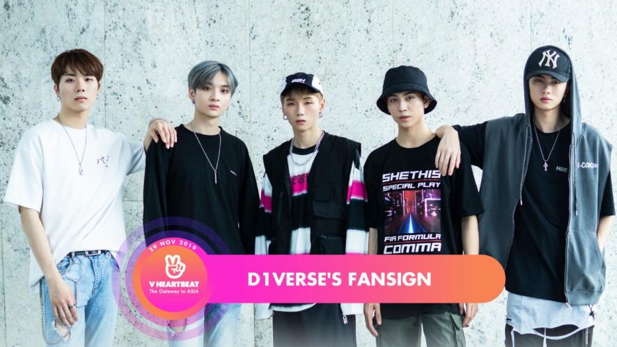 D1Verse's Fansign - V HEARTBEAT LIVE NOVEMBER 2019
