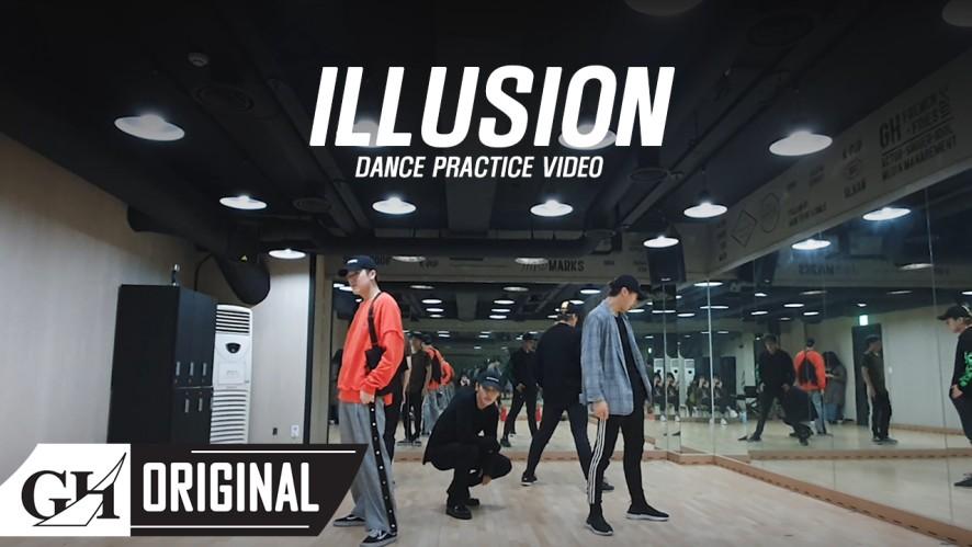 "B.I.G(비아이지)-""ILLUSION"" DANCE PRACTICE VIDEO"