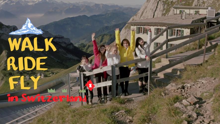 We're Flying Over Zermatt🎶|Walk, Ride, Fly with Red Velvet EP.3