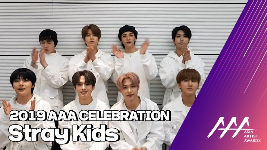 ★2019 Asia Artist Awards Celeb Interview 스트레이키즈(STRAY KIDS)★