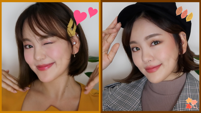 GRWM for autumn date styling (2 bob hairstyle tips  + makeup + fashion)