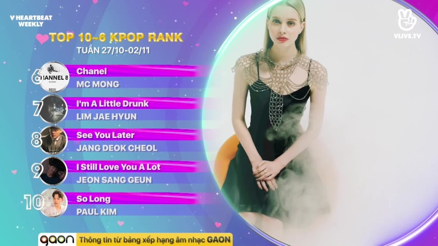 [V HEARTBEAT WEEKLY] Ep.69- K POP CHART & NEWS