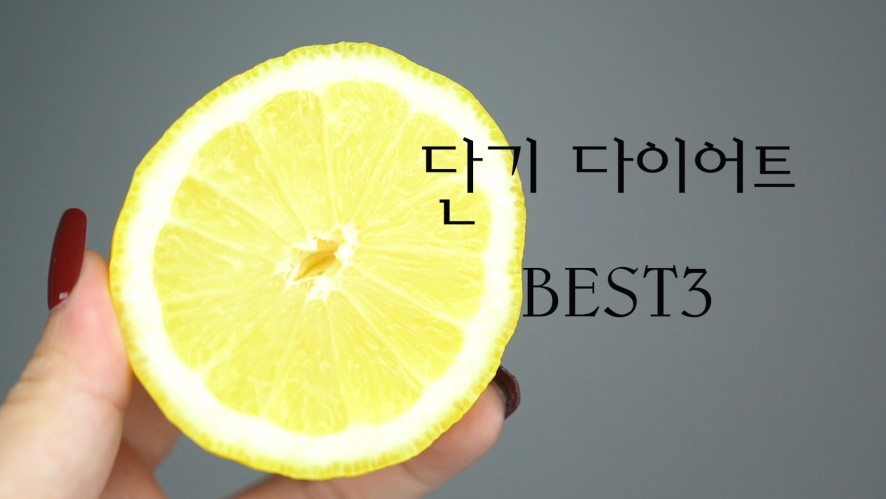 BEST 3 Short Term Diets
