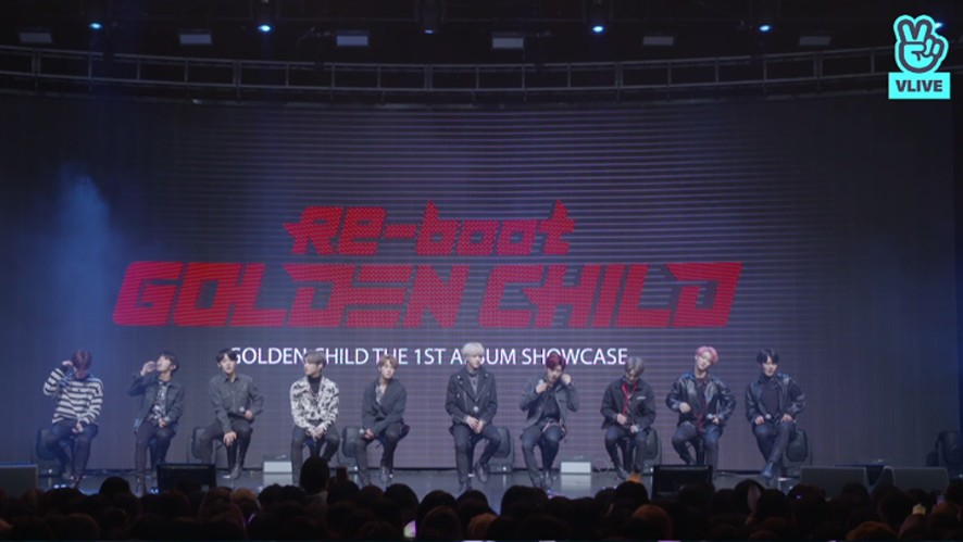 [FULL] Golden Child(골든차일드) 1ST ALBUM [Re-boot] COMEBACK SHOWCASE