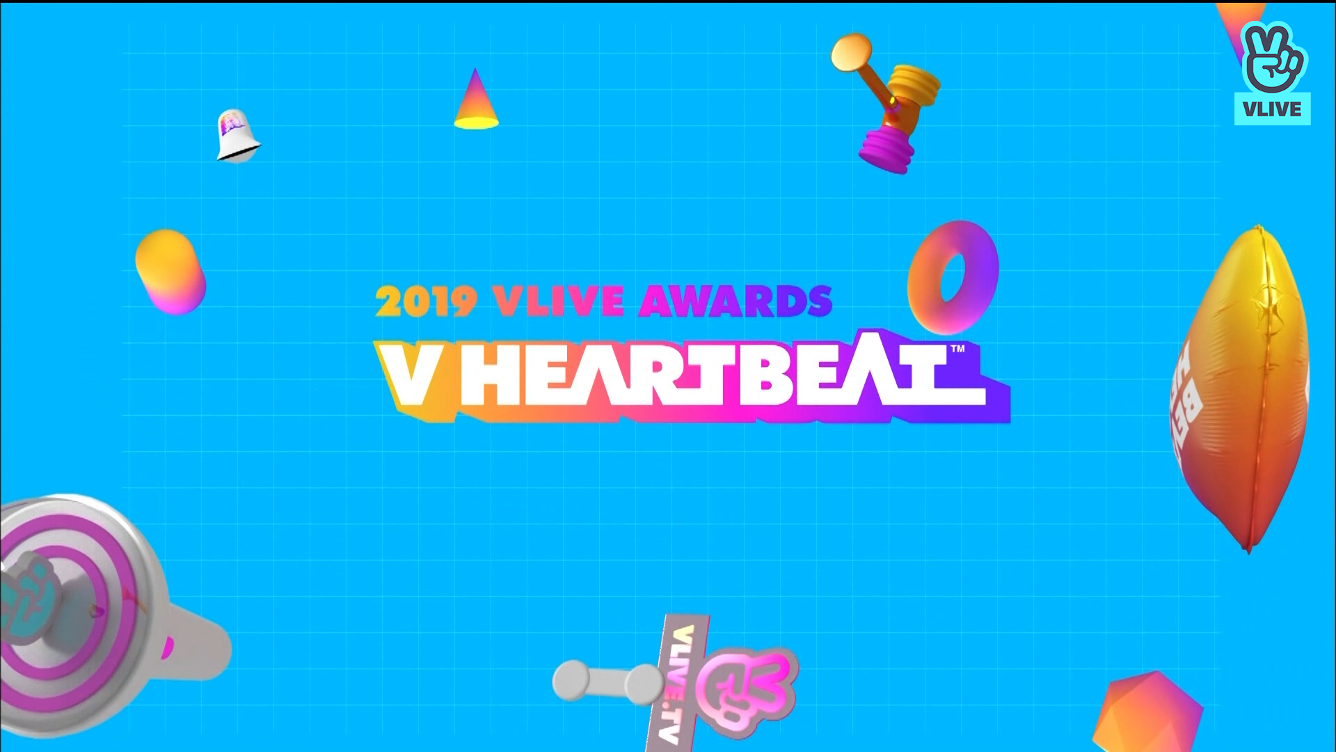 [Full] 2019 VLIVE AWARDS V HEARTBEAT PART1