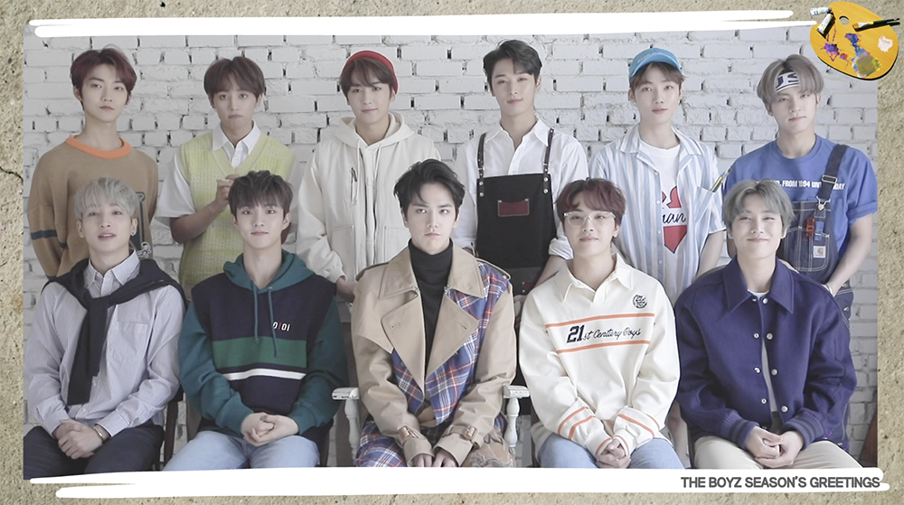 THE BOYZ(더보이즈) SEASON'S GREETINGS [THE ARTIST] PREVIEW