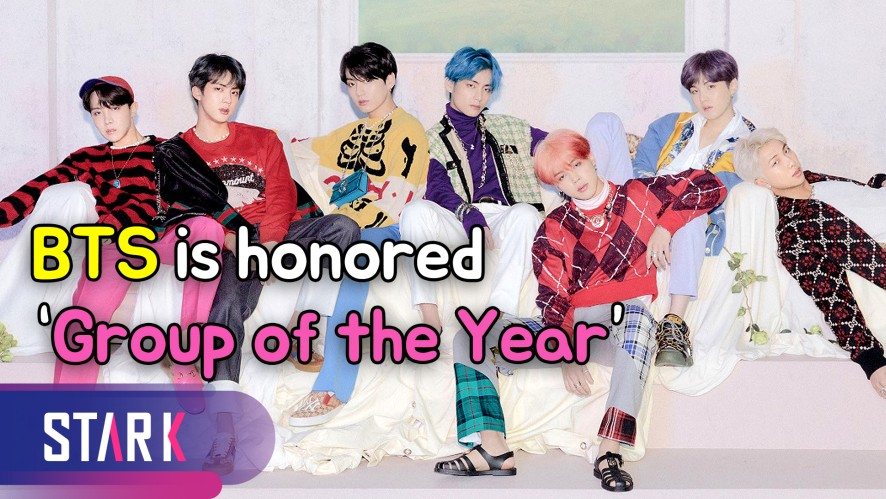 BTS is honored 'Group of the Year' (방탄소년단, 히트메이커스 '올해의 그룹' 수상)