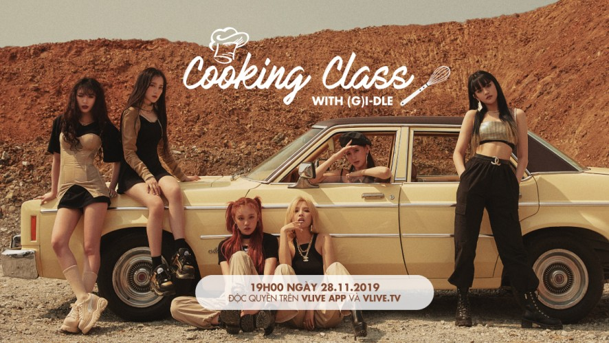 Cooking Class with (G)I-DLE