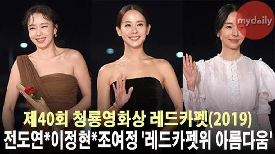 <제40회 청룡영화상> '레드카펫 위 아름다움'