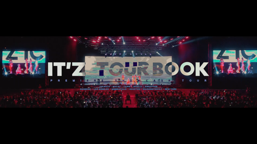 ITZY(있지) IT'z TOURBOOK TEASER