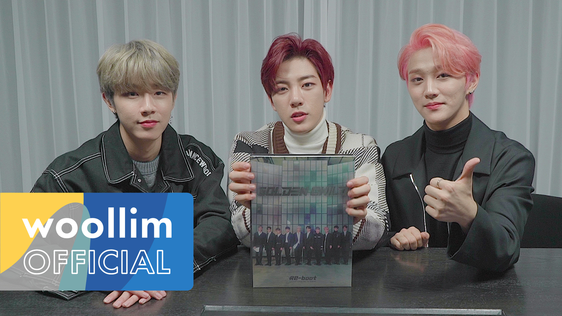 골든차일드(Golden Child) 1st ALBUM 'Re-boot' Unboxing(일반판)