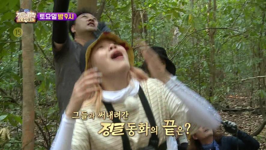 [정글의법칙] Ep.9 예고 '희귀 동물과의 조우! 그들과 써 내려간 정글 동화! 정법 in 순다열도!' / 'Law of the Jungle' Preview   SBS NOW