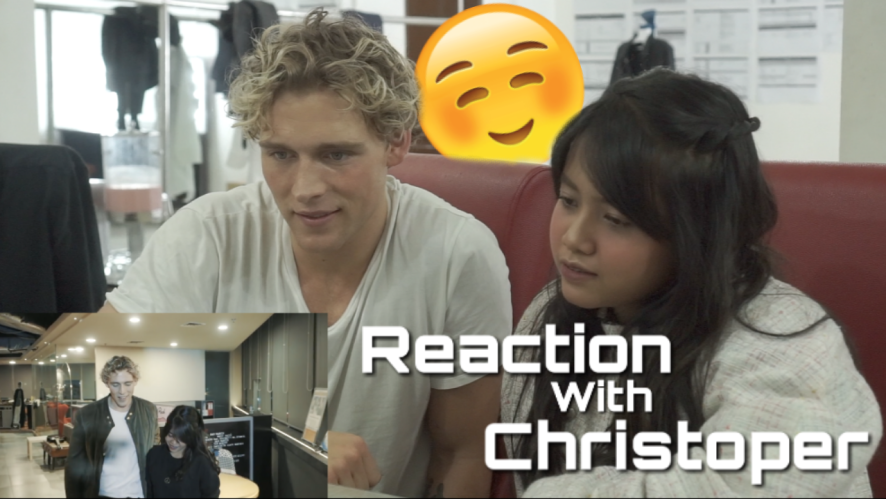 Reaction With Christoper | Heartbeat - Christoper X Hanin Dhiya