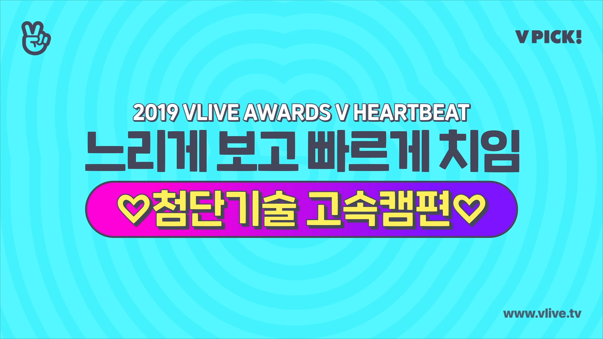 [V PICK!] 2019 V HEARTBEAT 하이라이트 ✨고속캠편✨ (2019 V HEARTBEAT PICK! 'HIGH SPEED CAM')