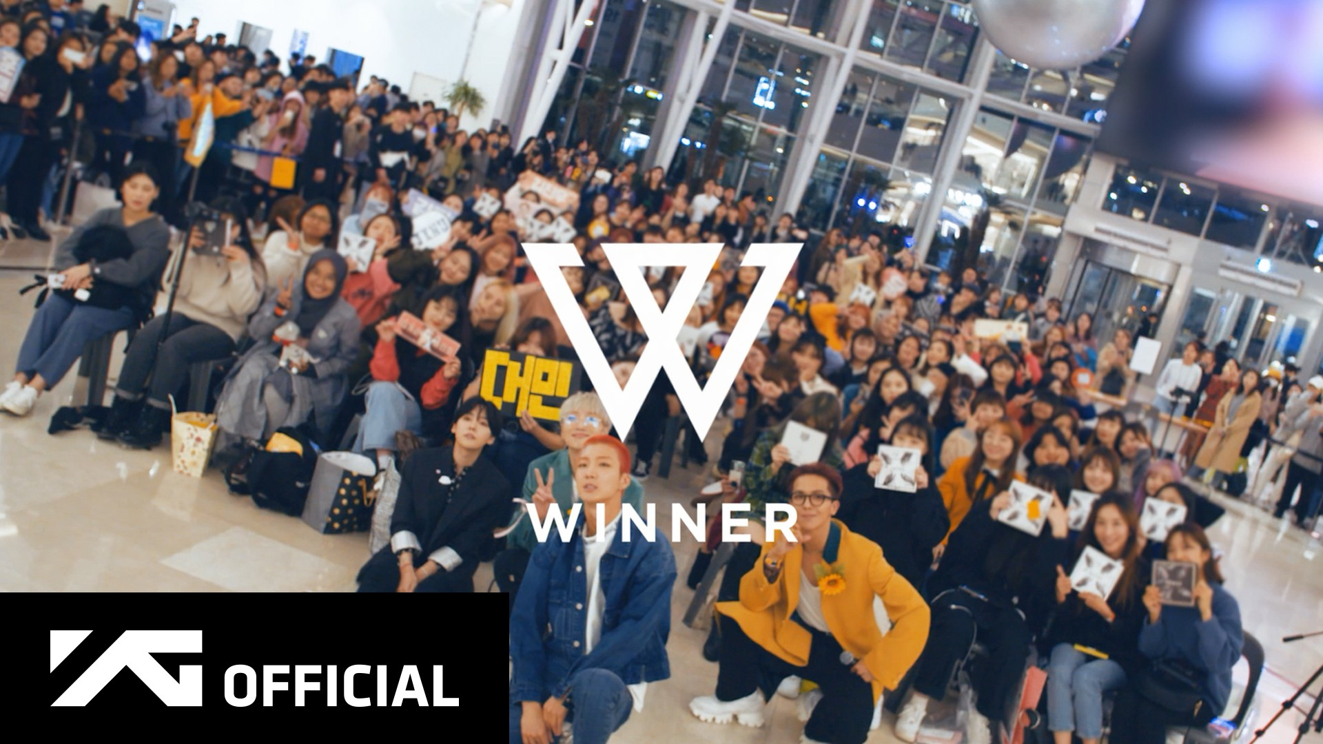 WINNER - 'CROSS' FAN-SIGNING DAY IN YEONGDEUNGPO