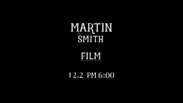 [Interview] 마틴스미스(Martin Smith) - FILM (D-1)