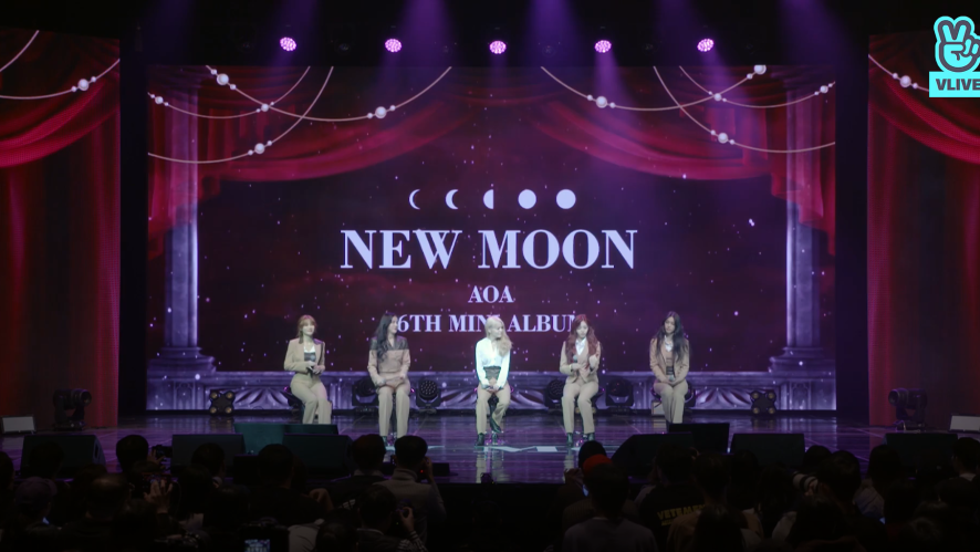 [FULL]  AOA 6TH MINI ALBUM <NEW MOON> SHOWCASE