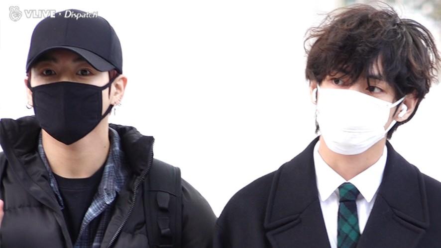 """""""월드 클래스의 출국길"""" (방탄소년단 : BTS)"""