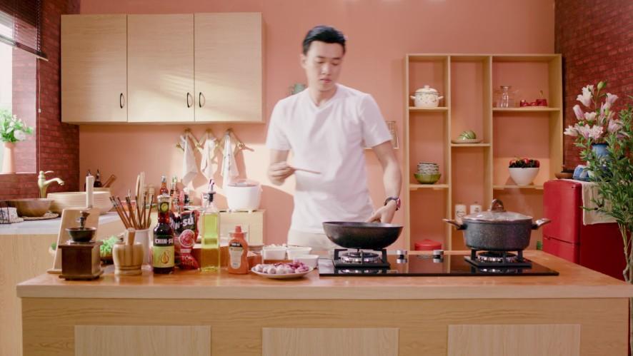 Vào Bếp Đi Con - Tập 4: Quốc Trường tự tay nấu món bún cá ngon hết sẩy