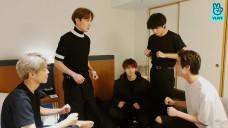 Jin's birthday V Live
