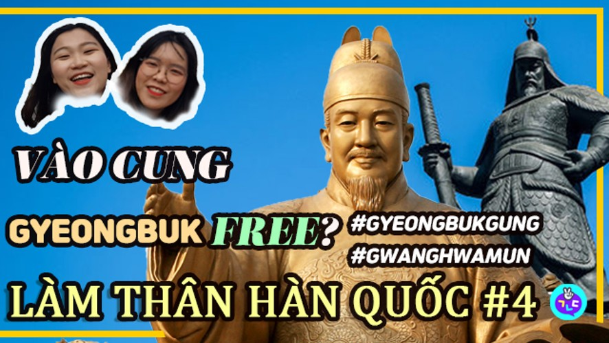 [LÀM THÂN HÀN QUỐC] Dạo quanh Gyeongbuk-gung/ GwangHwaMun (P.1)