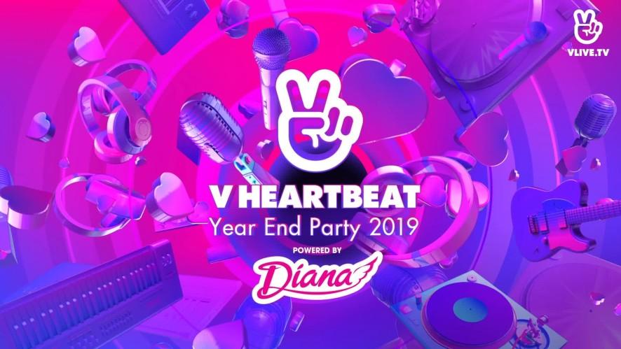 Cùng VLIVE chào đón V Heartbeat Year End Party 2019