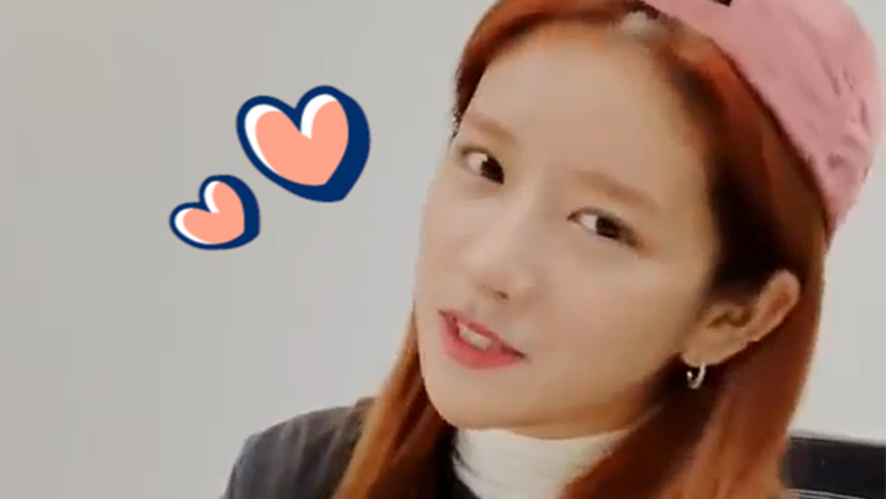 [WJSN] EXY playing 'Don't Touch'&'D-Day' guide version🎶