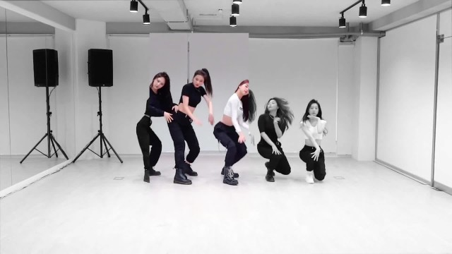 "[AutoCam_시명] BVNDIT ""Dumb"" Dance Practice"