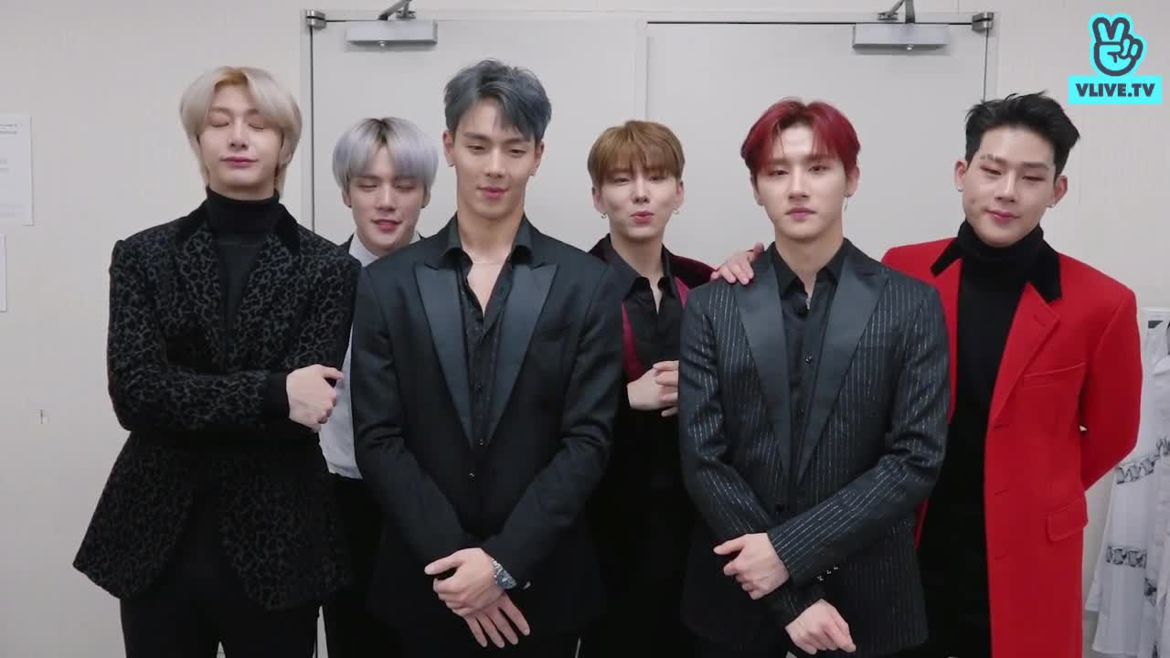MONSTA X join V HEARTBEAT YEAR END PARTY 2019~!