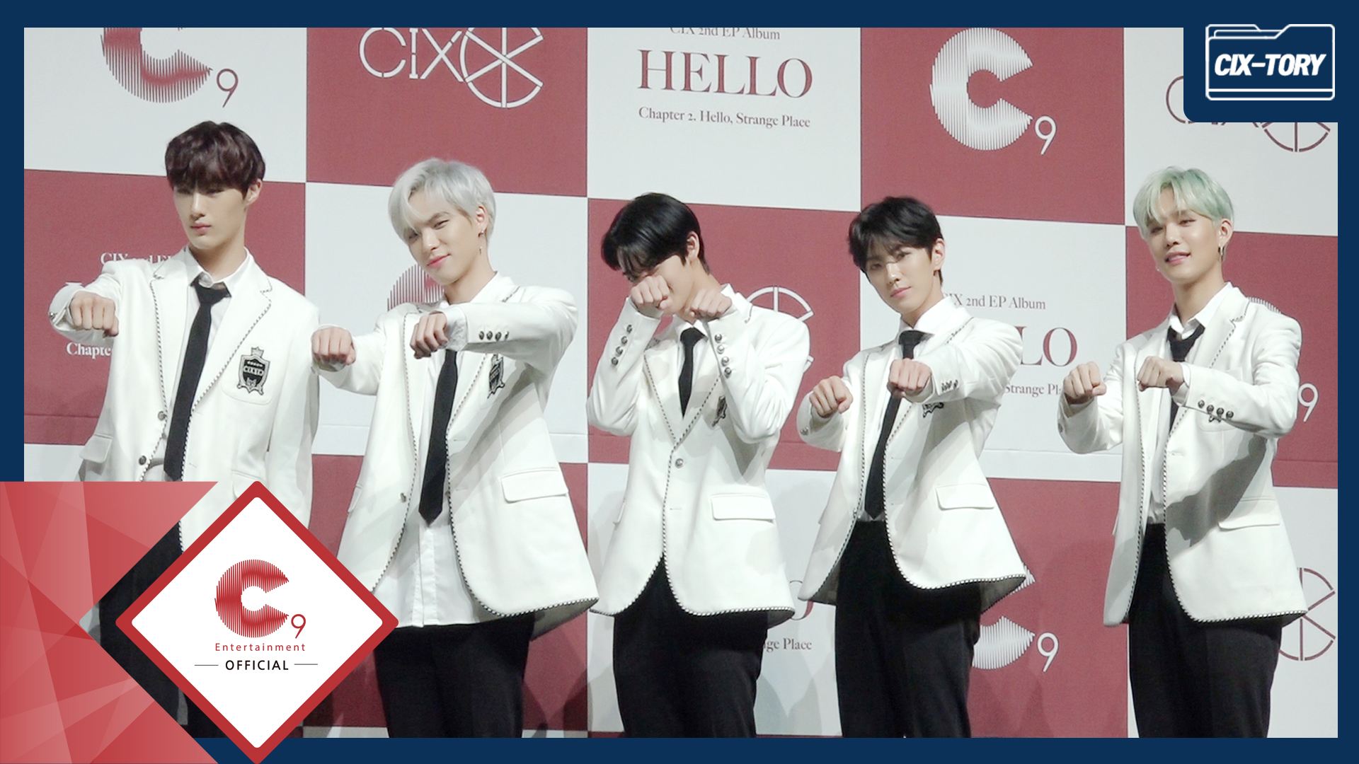 [CIX-tory] STORY.20 CIX 2nd EP Album 'Hello, Strange Place' 언론 쇼케이스 현장