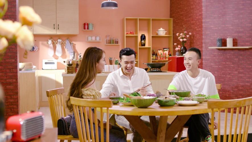 Vào Bếp Đi Con - Tập 5:QuốcTrường hội ngộ Quỳnh Nga và Anh Vũ, cùng vào bếp nấu bữa ăn thịnh soạn