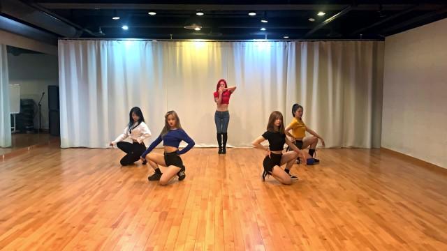 나리(Nari) - Favorita 안무연습영상/ 파워레인저 ver. (Dance Practice Video)