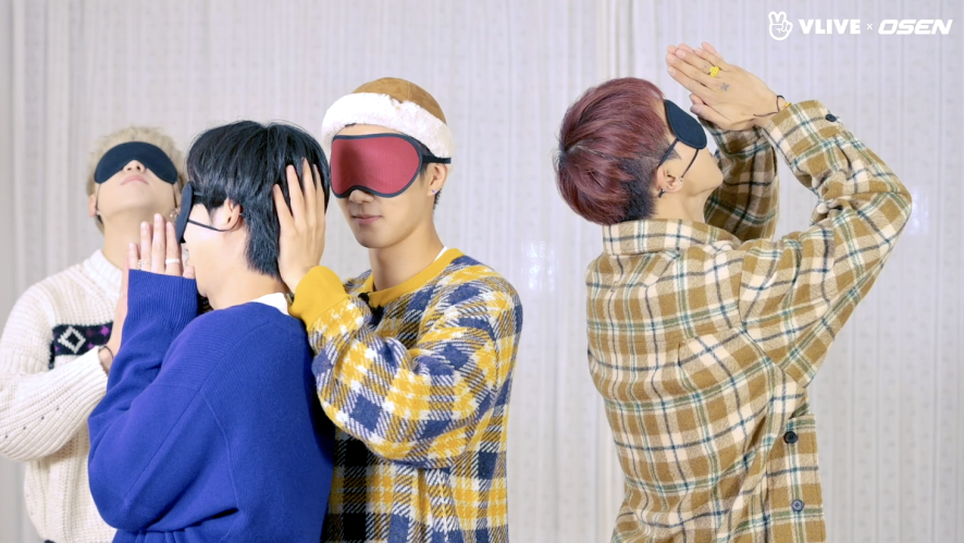 "WINNER trying ""OMG"" dance with an eye patch on #Star Road 04"