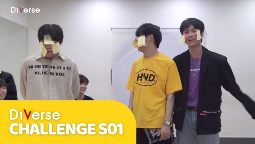 D1Verse Challenge   Dùng Cơ Mặt Gỡ Giấy Nhớ   Tập 4