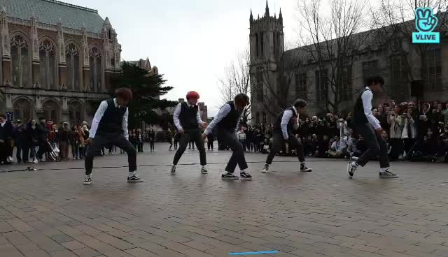 A.C.E BUSKING in SEATTLE