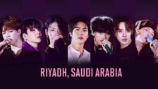 BTS WORLD TOUR 'LOVE YOURSELF: SPEAK YOURSELF' in Saudi Arabia