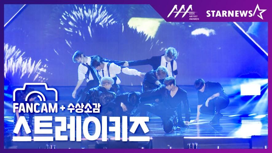 ★스트레이키즈(STRAY KIDS) FANCAM [Intro + Double Knot + MIROH] & 수상소감 2019 AAA★