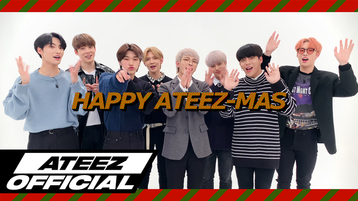 2019 Christmas Message from ATEEZ(에이티즈)