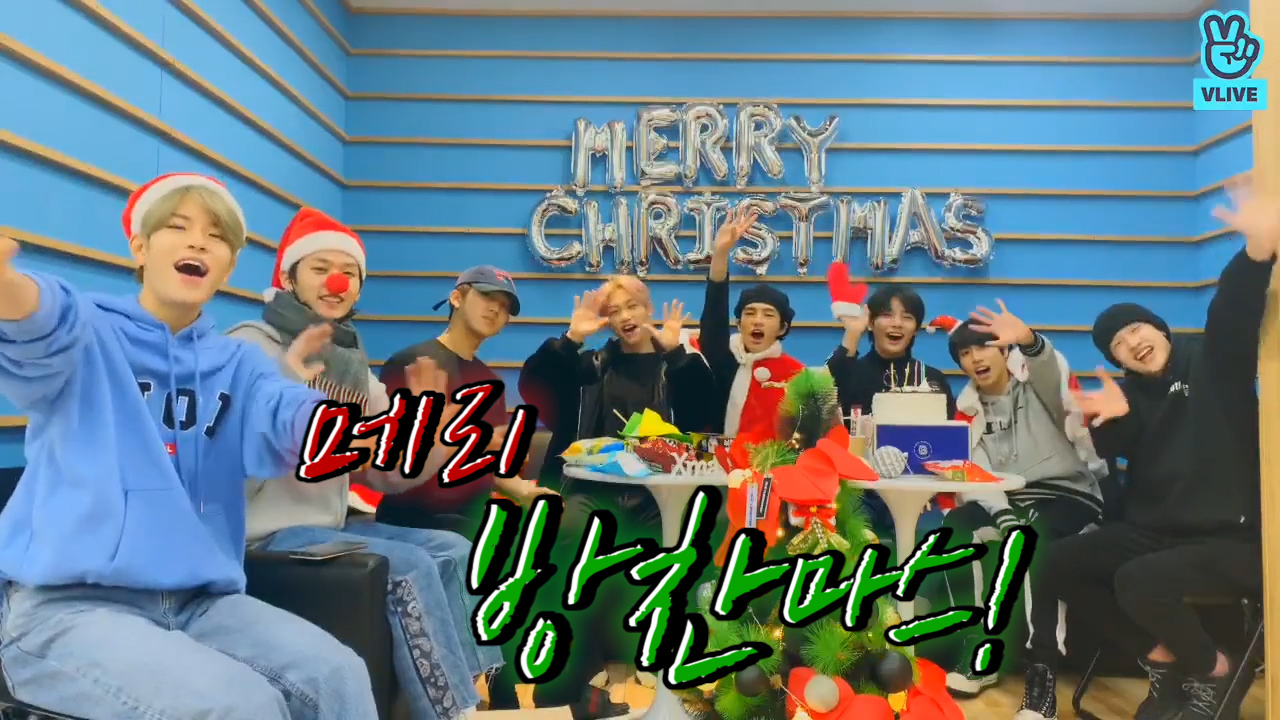 [Stray Kids] 스트레이키즈 단체로ㅋㅋㅋㅋㅋ 메리 방찬마스~🎄🎅 (Stray kids talking about christmas wish)