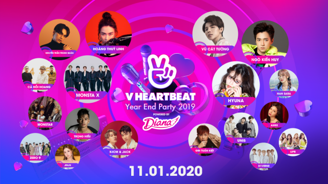 V HEARTBEAT Year End Party 2019
