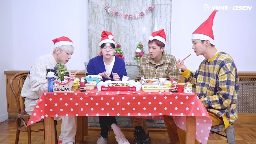 WINNER's new year party (ft. passionate eater Mino) #star road 12