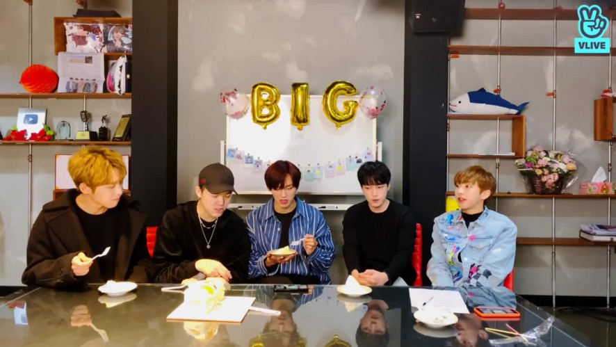 B.I.G Received Strong Biginning's Blessing 2000 Days