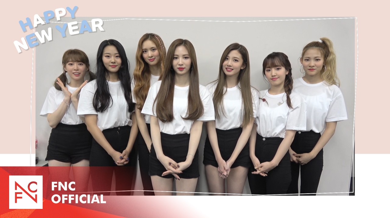 Cherry Bullet  2020 New Year's Greeting Message
