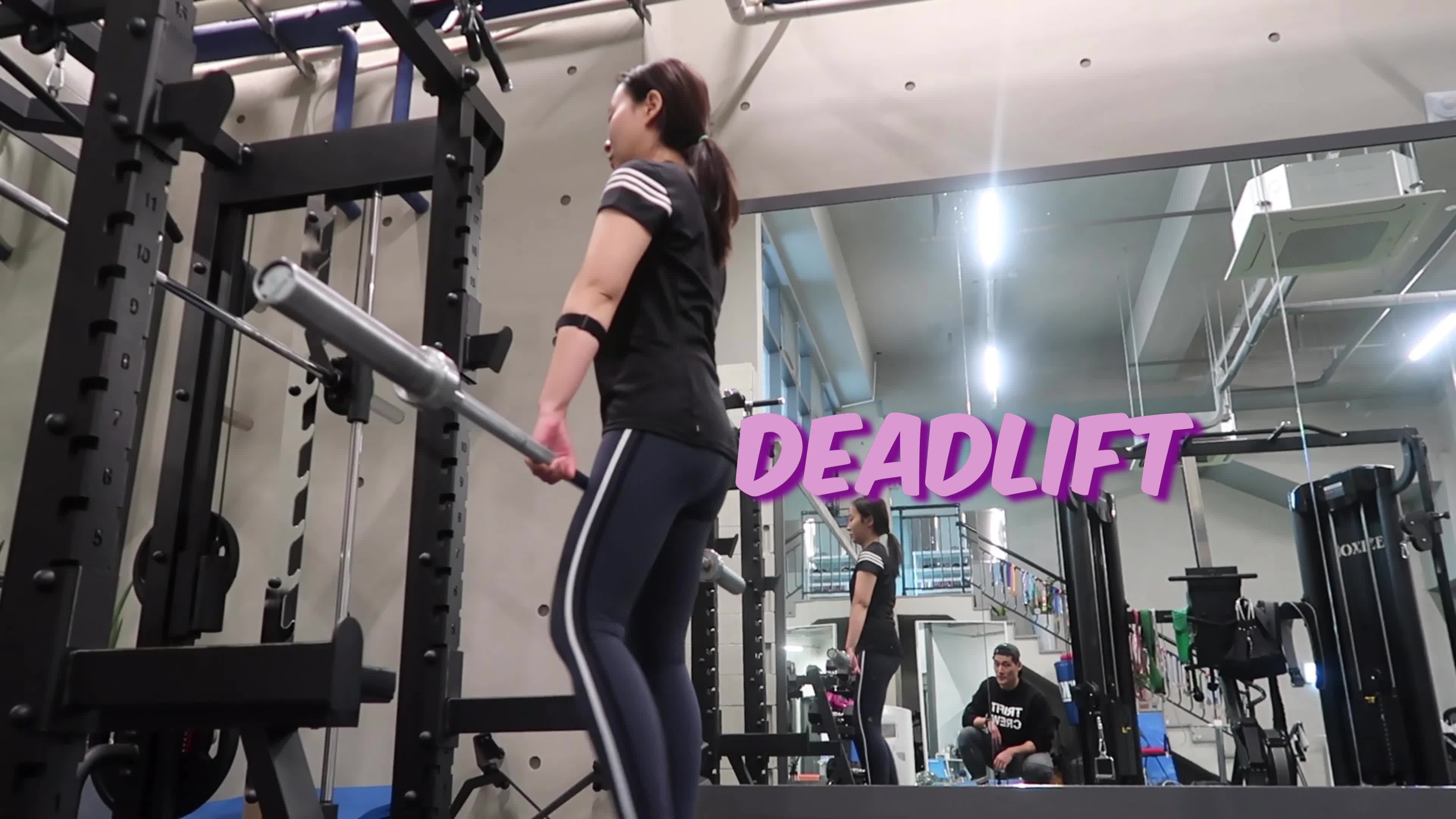 [1분팁] 다이어트 운동 데드리프트(Deadlift) 다이어트 vlog