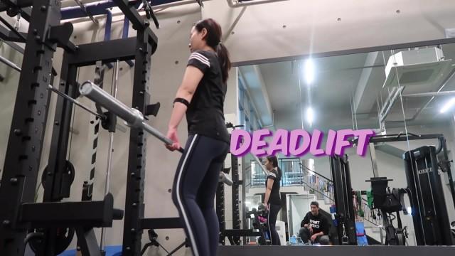[1min Tip] Diet Exercise Deadlift Diet VLOG