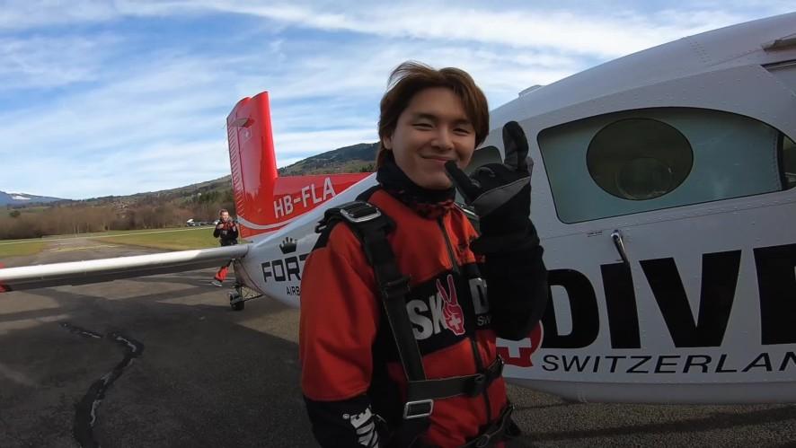 Kim Do Hyung Flies High into the Sky