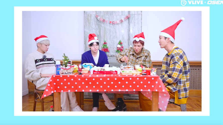 What does WINNER want to do on Christmas? #Star Road 13
