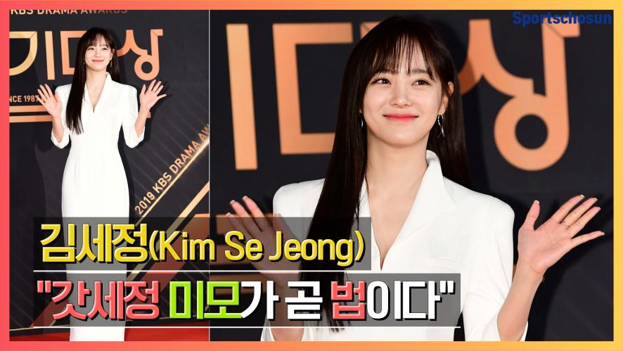 """김세정(Kim Se Jeong) """"갓세정 미모가 곧 법이다"""" (2019 KBS연기대상)"""
