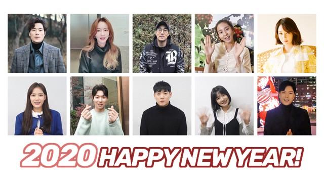 [KING] 킹엔터 배우들의 2020년 새해인사