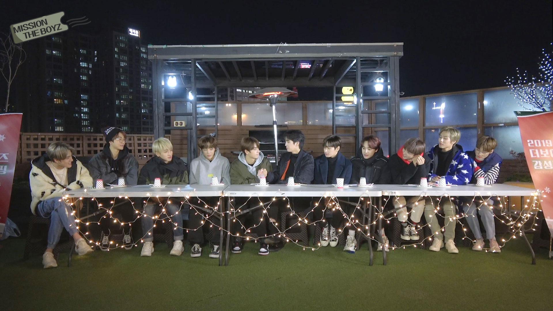 [MISSION THE BOYZ] 2019 감성캠핑